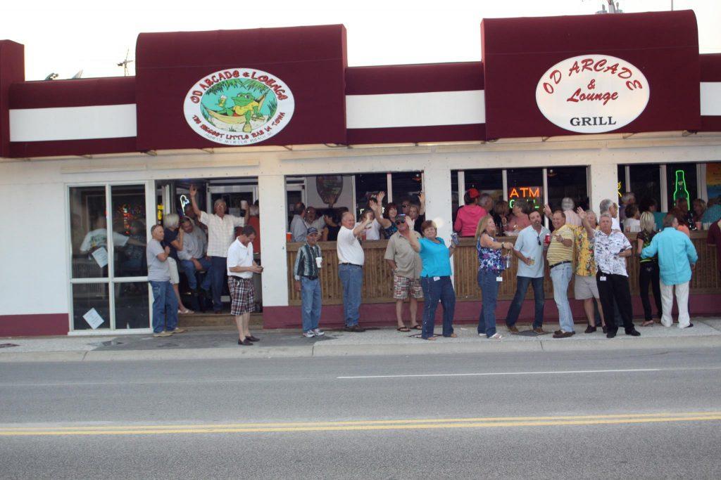 OD Arcade & Lounge exterior